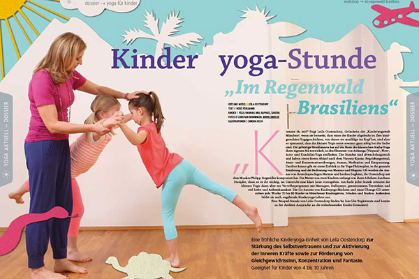 yoga aktuell ausgabe m rz 2014 kinder yoga welt. Black Bedroom Furniture Sets. Home Design Ideas
